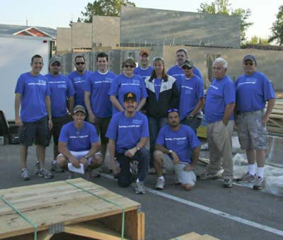 Nautique Employees volunteer with Habitat for Humanity_blogMarch2011