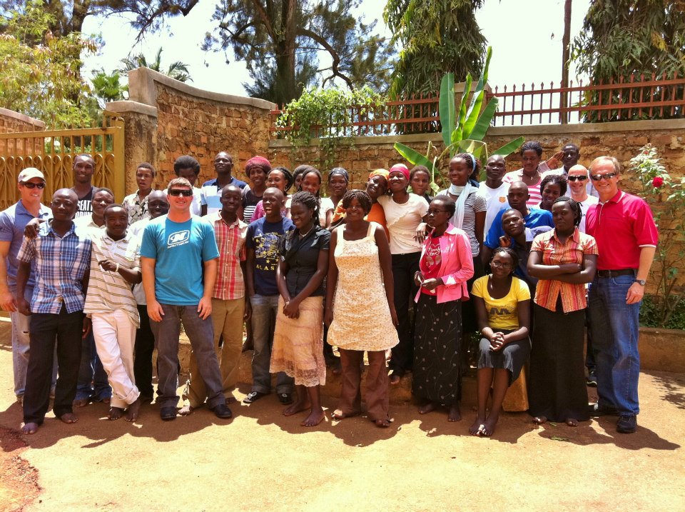 Nautique team at the New Hope Orphanage - Africa2012