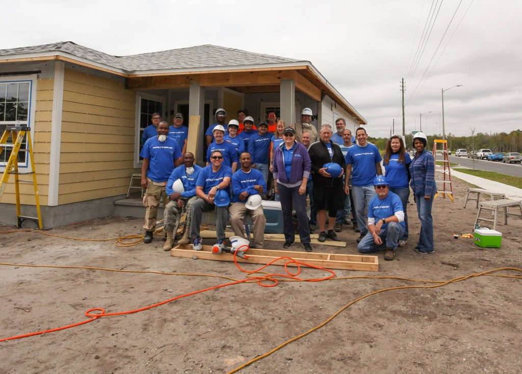 Nautique Cares Habitat for Humanity March 2015